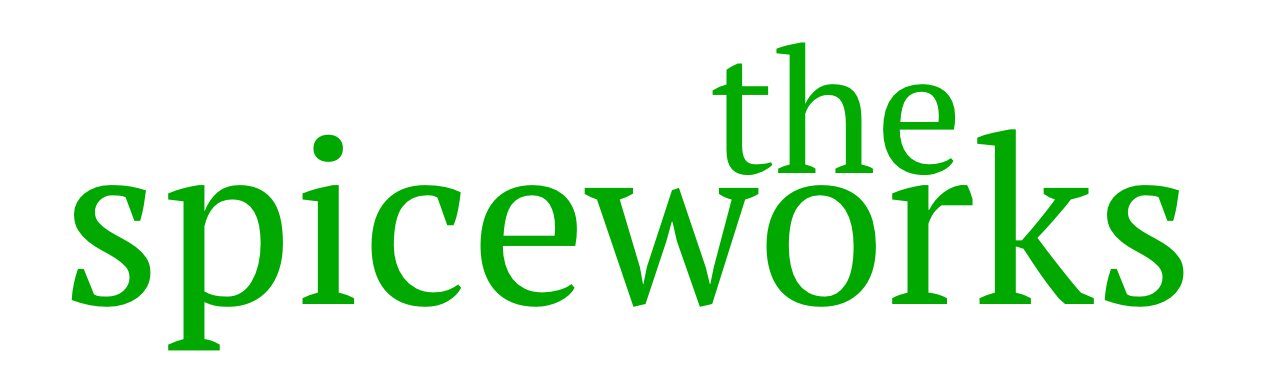 the spiceworks green logo pt serif